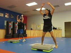 fitness program - jumping jacks