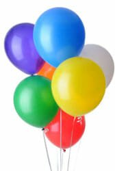 birthday parties - balloons