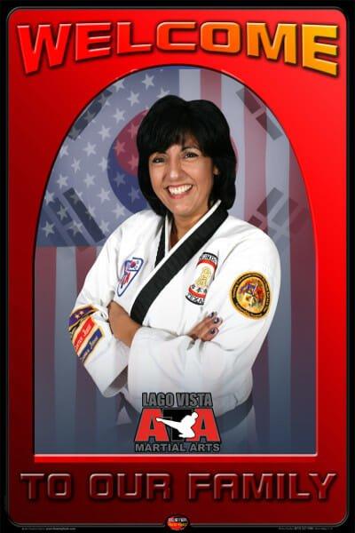 Mrs. Christina Schwartz - Lago Vista ATA Chief Instructor