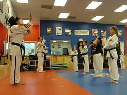 martial arts program - start of class