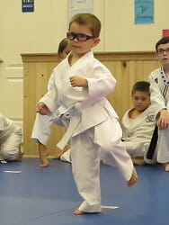 White Belt - One of our most precious students!